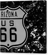 Road Sign 2 Canvas Print
