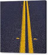 Road Stripe  Canvas Print