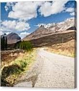Road To Beinn Eighe Canvas Print