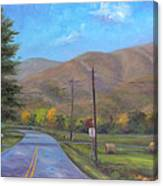 Road to Cold Mountain Canvas Print