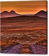 Road To Edna Valley Canvas Print