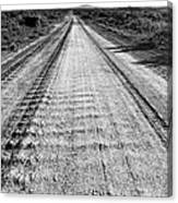 Road To Everywhere Bw Canvas Print