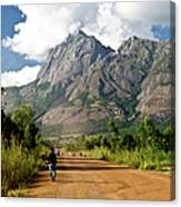 Road To Mount Mulanje Canvas Print