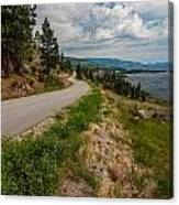 Road To Naramata Canvas Print