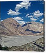 Road To Nubra Valley Canvas Print