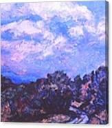 Road To Rocky Knob Canvas Print