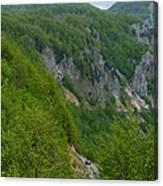Road To Savnik - Montenegro Canvas Print