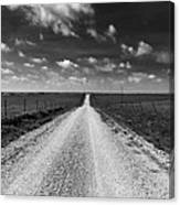 Road To Texaco Hill Canvas Print