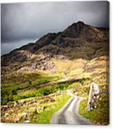 Road To The Black Valley Canvas Print