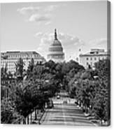 Road to the Capital  Canvas Print