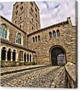 Road To The Gatehouse - In Color Canvas Print