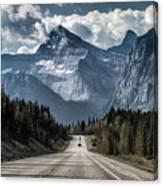 Road To The Great Mountain Canvas Print