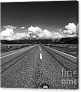 Road To The Horizont Canvas Print