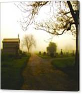 Road To The Mausoleum Canvas Print