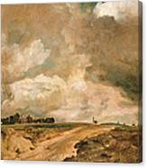 Road To The Spaniards. Hampstead Canvas Print