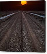 Road To The Sun Canvas Print