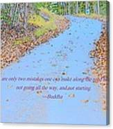 Road To Truth Canvas Print
