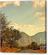 Road Trip Mountains Canvas Print