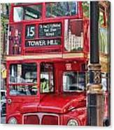 Roadmaster Double Decker 5261 Canvas Print