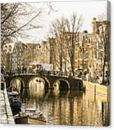 Roads Of Amsterdam Canvas Print