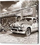 Roadside Antiques Canvas Print