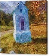 Roadside Shrine Canvas Print