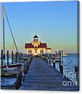 Roanoke Marches Lighthouse Canvas Print