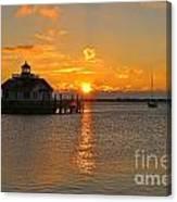 Roanoke Marshes Lighthouse 3210 Canvas Print