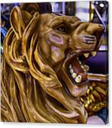 Roaring Lion Ride Canvas Print