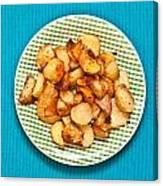 Roast Potatoes Canvas Print