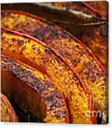 Roasted Pumpkin Canvas Print
