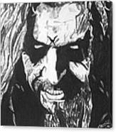 Rob Zombie Canvas Print