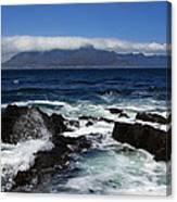 Robben Island View Canvas Print