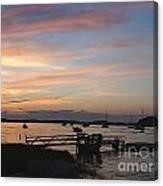 Robbin's Island Wharf Canvas Print