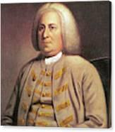 Robert Dinwiddie (1693-1770) Canvas Print