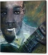Robert Johnson Crossroad Blues Canvas Print