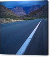 Robert Melvin - Fine Art Photography - Blue Diamond Storm Canvas Print