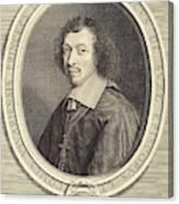 Robert Nanteuil French, 1623 - 1678, Louis-francois De La Canvas Print