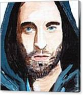 Robert Pattinson 128a Canvas Print