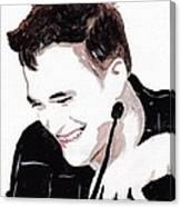 Robert Pattinson 184 Canvas Print