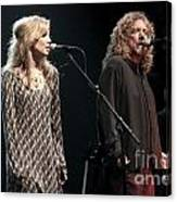 Robert Plant And Alison Kraus Canvas Print