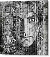 Robert Plant - Led Zeppelin Canvas Print