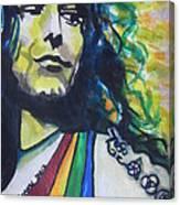 Robert Plant.. Led Zeppelin Canvas Print