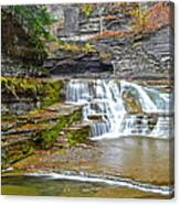 Robert Treman Waterfall Canvas Print
