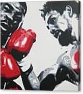 Roberto Duran 2 Canvas Print