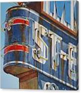 Robin And Motel Canvas Print