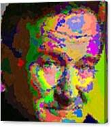 Robin Williams - Abstract Canvas Print