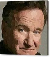 Robin Williams Portait Canvas Print