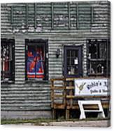 Robin's Nest Store In Autumn Michigan Usa Canvas Print