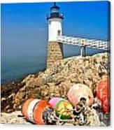 Robinson Point Lighthouse Canvas Print